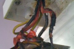 Burnt out shower pull cord Leeds